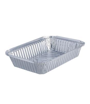 Take Away Embalagem de Alumínio Rectangular 980ml (1000 uds)
