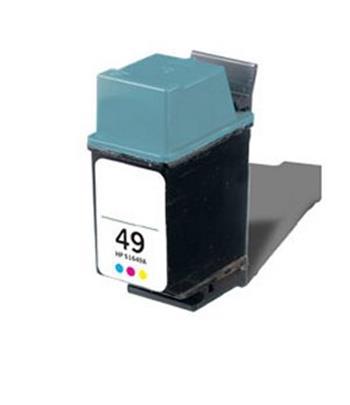 TINTEIRO COMPATIVEL HP 49 CORES 51649AE