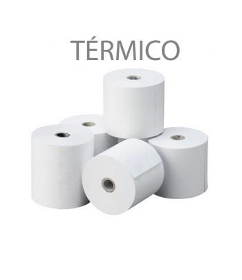 Rolos de papel térmico...